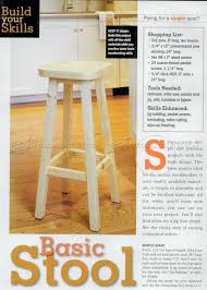 Wooden Bar Stool Plans Free by Bar Stool Bar Stool Plans Free High Plansbar Woodworking