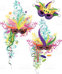 mardi gras ornaments stock vector 165753642 istock