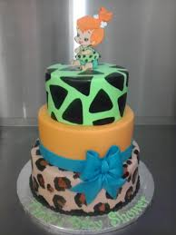 pebbles baby shower flinstones bithday cake cakes pinterest