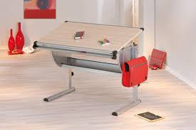 Kinder Schreibtisch Kinderschreibtisch Ibo Ahorn Höhenverstellbar Neigung Verstellbar