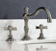 Langford Cross Handle Widespread Bathroom Faucet Pottery Barn Bathroom Fixtures Discount