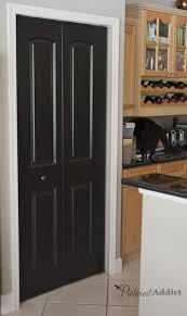 Kitchen Interior Doors Painting The Interior Doors Black