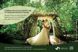 Vandusen Botanical Garden Wedding Vandusen Botanical Garden Weddingbells
