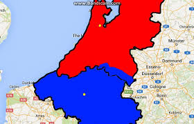 belgium and netherlands map belgium vs netherlands