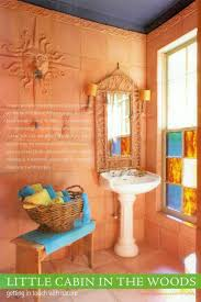 terracotta painted walls eurobath has custom made tiles to match