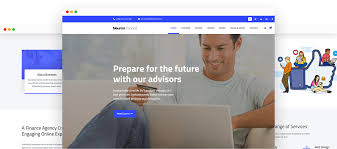 neuron finance free html business template trendy theme