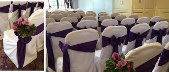 Chair Sashes Made Marvellous Chair Covers Ayrshire