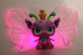 Pink Butterfly Fairy Lights by Hasbro Littlest Pet Shop Fairies Light Up Butterfly Wings Fairy C