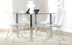 chrome dining room chairs chrome dining room sets nova square glass chrome dining table and 4