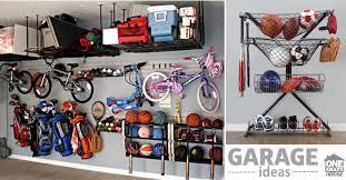 Ball Organizer Garage - garage organization tips 18 ways to find more space in the garage