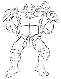 michelangelo ninja turtle coloring free printable coloring