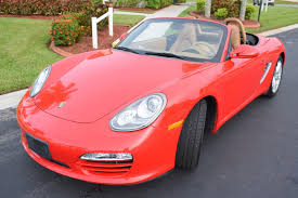 Porsche Boxster Base - 2009 porsche boxster base 2 9l pdk transmission 72k miles red with