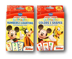 amazon com disney mickey mouse clubhouse flash cards set