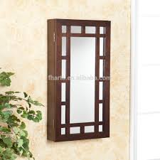 Jewelry Mirror Armoire Wall Mounted Dressing Mirror Jewelry Armoire Wall Mounted