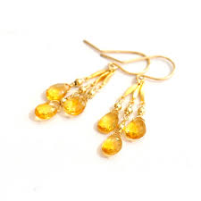 november birthstone goldfilled citrine earrings november birthstone earrings