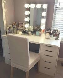 bedroom makeup vanity open travel
