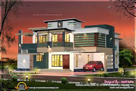 contemporary house floor plans floor plan of 260 sq m house elevation kerala home design and