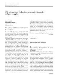 cuisine mol ulaire d inition a unique chromosome mutation in pigs pdf available