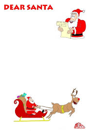 letter to santa free letter to santa template