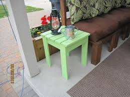 Build Outdoor End Table by 25 Best Ideas About Outdoor End Tables On Pinterest Pallet