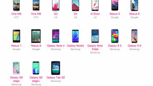 list of android versions t mobile reveals list of devices that will get android 6 0 marshmallow