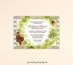 Dinner Invitation The 25 Best Christmas Dinner Invitation Ideas On Pinterest