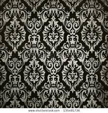 vintage black black vintage background pattern stock illustration 135481736