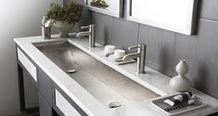 bathroom home design sink trough sink riveting trough sink with one faucet u201a eye