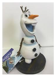penn plax disney frozen fish aquarium decoration ornament snowman