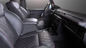 mercedes g class interior 2016 carbon motors removes all plastic bits from mercedes g class u0027 interior
