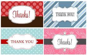 thank you tags 14 printable thank you gift tags baby