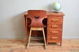 petit bureau vintage bureau enfant retro ecolier vintage pas cher bureau of land