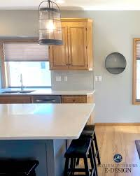 best wall color with oak kitchen cabinets the 16 best paint colours to go with oak or wood trim
