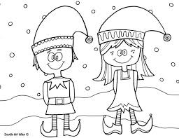 free printable coloring pages of elves elf coloring pages girl christmas coloring pages