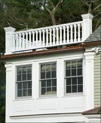 roofline baluster railing commercial and residential solid