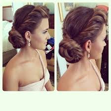 bridal hair for oval faces in love with this twisted low bridal updo wedding hairstyles