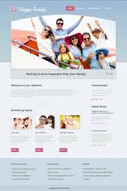 website template 44222 parenting family center custom website
