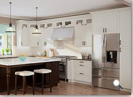 Cream Shaker Kitchen Cabinets by Assembled Kitchen Cabinets Cream Shaker Rta Cabinet Hub