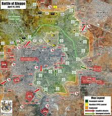 Syria Map Control by Battle Map Of Aleppo Syrian Army In Full Control Of Al Zahra Quarter