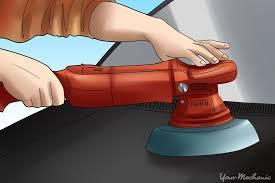 how to sand and buff clear coat yourmechanic advice