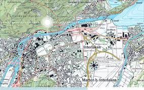national map national map for switzerland