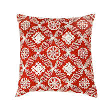 buy zevar regal red mother of pearl silk cushion cover 16