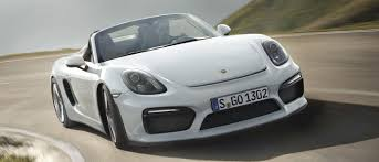 purple porsche boxster porsche might build a boxster spyder gt4 because the world went