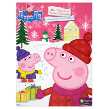 peppa pig milk chocolate advent calendar 60g chocolate