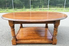 round oak end table round oak coffee table chics round oak coffee table top round