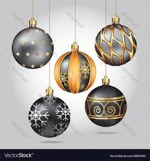 ornaments black ornaments black or