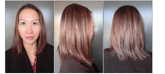 light mahogany brown hair color with what hairstyle new year fresh color neil george