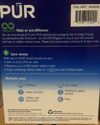 Pur Faucet Adapter Replacement 100 Clean And Pure Water Filter Faucet Adapter Frigidaire