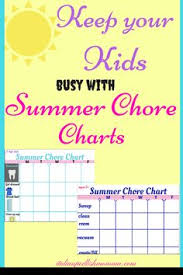 complete housekeeping printable set weekly chores