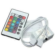 24 key ir remote controller for dc 12v rgb led light us 2 79